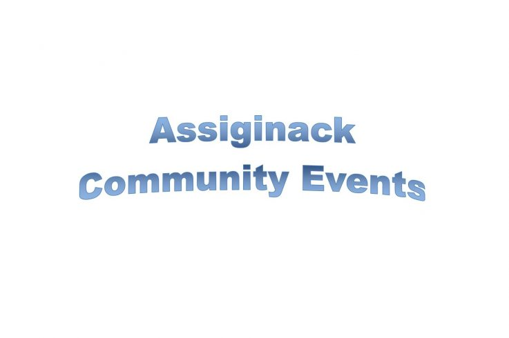 2017 Assiginack Community Events Listing