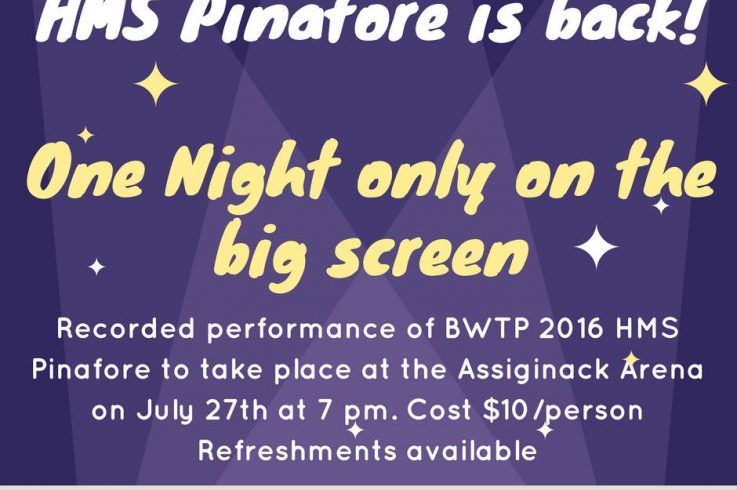 HMS Pinafore Movie Showing