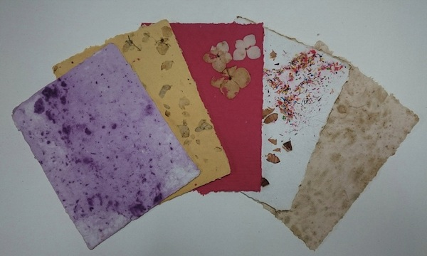 Paper Making Classes in Manitowaning