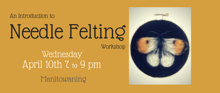 Needle Felting Workshop