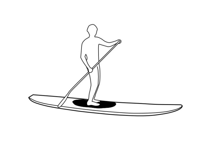 Borrowing Stand Up Paddleboards