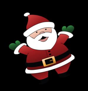 Santa Visit on Christmas Eve