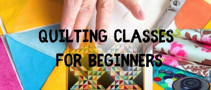 Adult Beginner Quilting Class