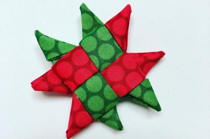 Make a Scandinavian Star Christmas Ornament