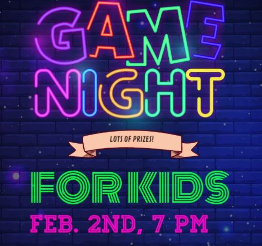 Virtual Game Night for Kids